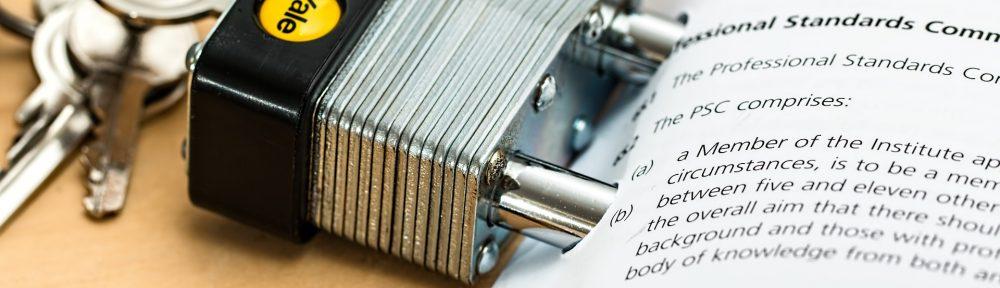 Bild für die Seite die darauf hindeutet, dass die Erfahrungsberichte und Prüfungsprotokolle Passwortgeschützt sind.
